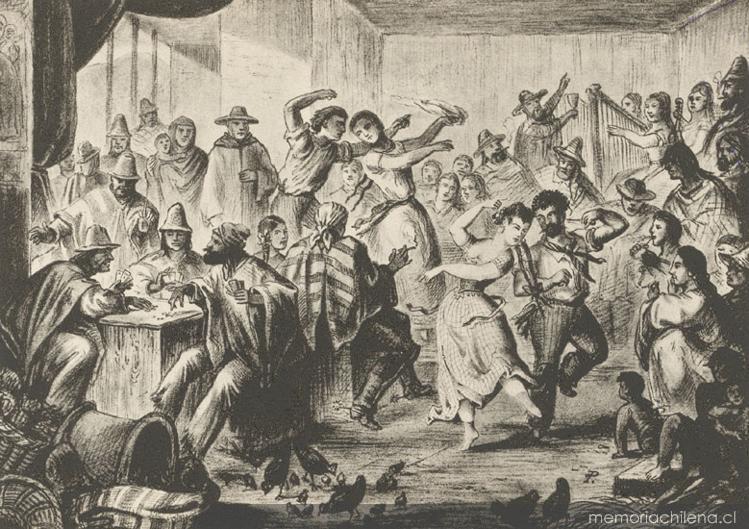 CHINGANA EN TRES PUNTAS (1852)